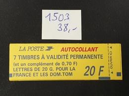 Carnet  N° 1503  Neuf **  TTB - Libretas