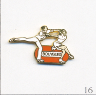 Pin's Sport - J.O D'Albertville 1992 / Les Duchesnay (Patinage Artistique) - Sponsor Bouygues. Non Est. EGF. T653-16 - Olympic Games