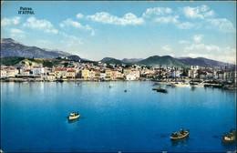 Postcard Patras Patra Πάτρα Totalansicht 1916 - Grecia