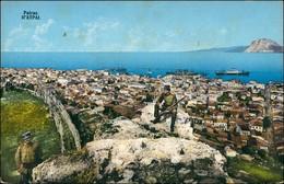 Postcard Patras Patra Πάτρα Stadt, Soldaten 1912 - Grecia