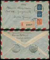 Portugal - XX. 1949. Madeira / Funchal - British Guiana. Reg Caravela Fkd Env. Cia Sutch Suriname. Interesting Transited - Portugal