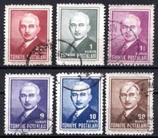 1946 TURKEY THE THIRD INONU ISSUE USED - 1921-... République