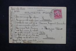 BRÉSIL - Affranchissement De Belém Sur Carte Postale En 1911 Pour La France - L 24358 - Cartas