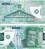 Ireland Northern - 10 Pounds 2017 Danske Bank UNC Lemberg-Zp - Irlanda-Nord