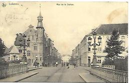 CPA / AK / PK   -   LOKEREN  Rue De La Station - Lokeren