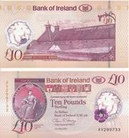 Ireland Northern - 10 Pounds 2017 UNC Bank Of Ireland Lemberg-Zp - Irlanda-Nord