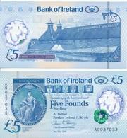 Ireland Northern - 5 Pounds 2017 UNC Bank Of Ireland Lemberg-Zp - Irlanda-Nord