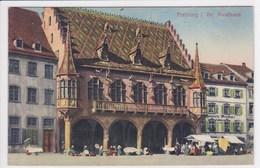 ALLEMAGNE FREIBURG Br Kaufhaus  , Marché Sur La Place - Freiburg I. Br.
