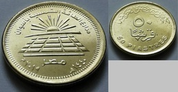 EGYPT - Recently Issued 50 Piastres 2019 - Solar Power Plant  Aswan - VVV Rare - Egypt