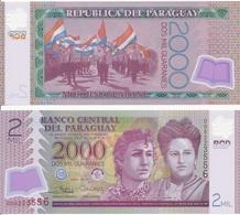 Paraguay - 2000 Guaranies 2017 UNC Lemberg-Zp - Paraguay