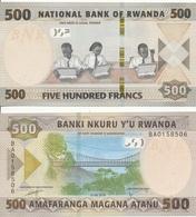 Rwanda - 500 Francs 2019 UNC Lemberg-Zp - Rwanda