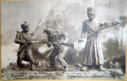 GRANDE GUERRE  RUSSIE CARICATURE PROPAGANDE  ITALIENNE RUSSE ET COSAQUE - Guerre 1914-18