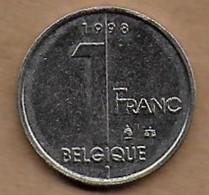 1 Franc Albert II 1998 FR - 02. 1 Franc