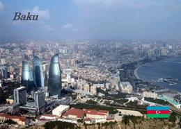 Azerbaijan Baku Flame Towers New Postcard Aserbaidschan AK - Azerbaïjan
