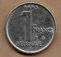 1 Franc Albert II 1995 FR - 02. 1 Franc