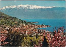 Lago Di Garda - Salò : Panorama Con Lo Sfondo Del Monte Baldo - Brescia