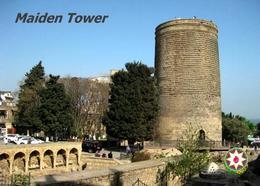 Azerbaijan Maiden Tower UNESCO New Postcard Aserbaidschan AK - Azerbaïjan