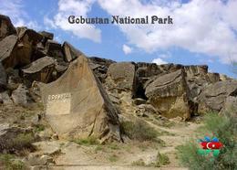 Azerbaijan Gobustan National Park UNESCO New Postcard Aserbaidschan AK - Azerbaïjan