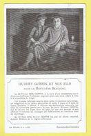 * Ans (Liège - Luik - La Wallonie) * (Imp Bénard S.A. Liège) Hubert Goffin Et Son Fils, Dans La Houillère Beaujonc - Ans