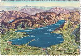 Lago Di Garda - Planimetria  - Carte/Map - Brescia