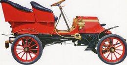 Franklin 10 Hp  -  1904   -  Carte Postale - Turismo