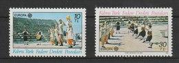 MiNr. 566 - 567  Zypern 1982, 3. Mai. Europa: Historische Ereignisse. - Cyprus (Republic)