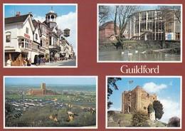 Postcard Guildford Surrey Multiview My Ref  B23415 - Surrey