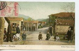 791. CPA COLORISEE GRECE. ROÏTICA-PATRAS - Grèce