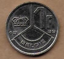 1 Franc 1989 FL - 1951-1993: Baudouin I