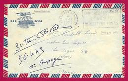 Enveloppe En Franchise Militaire - Poste Aux Armées - TOE - Secteur Postal 56 445 - Marcophilie (Lettres)