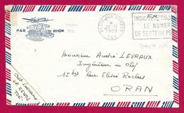 Enveloppe En Franchise Militaire - Poste Aux Armées - TOE - Secteur Postal 55 402 - Marcophilie (Lettres)