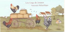 Año 2015 Los Gallos De Francia - Bloques Souvenir