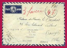 Enveloppe En Franchise Militaire - Poste Aux Armées - TOE - Secteur Postal 50 934 - BPM 406 A - Marcophilie (Lettres)