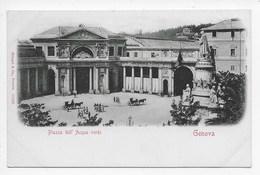 Genova - Piazza Dell' Acqua Verde - Retro Indiviso - Genova (Genoa)
