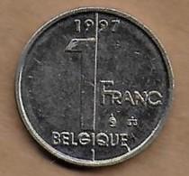 1 Franc 1997 FR - 1993-...: Albert II