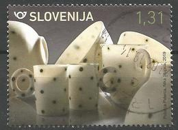 SI 2019-1354 PORZELAN , SLOVENIA, 1 X 1v, Used - Slowenien