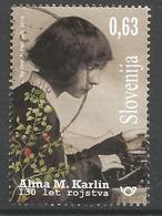 SI 2019-1349 ALMA KARLIN , SLOVENIA, 1 X 1v, Used - Slowenien