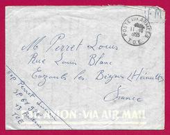 Enveloppe En Franchise Militaire - Poste Aux Armées - TOE - Secteur Postal 61 928 - Marcophilie (Lettres)