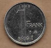 1 Franc 1998 FL - 1993-...: Albert II