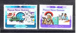 Papua  N. Guinea  - 1983. Bus , Cycling. Telefono E Telefonisti. Telephone And Telephonists. MNH - Telecom