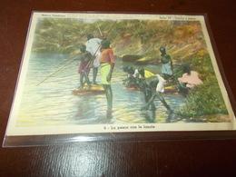 B718  Africa  Pesca Con Le Lancie Pieghine Angoli - Cartoline