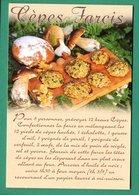 Cepes Farcis Recette ( Champignons, Pain, Ail, Oeufs ) - Recettes (cuisine)