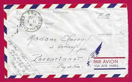 Enveloppe En Franchise Militaire Avec Censure - Poste Aux Armées - TOE - Secteur Postal 50 915 - Marcophilie (Lettres)