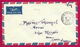Enveloppe En Franchise Militaire - Poste Aux Armées - TOE - Secteur Postal 50 703 - Marcophilie (Lettres)