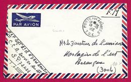 Enveloppe En Franchise Militaire - Poste Aux Armées - TOE - Secteur Postal 72 421 - Marcophilie (Lettres)