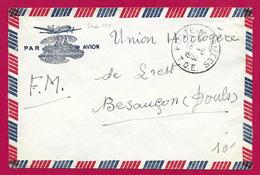 Enveloppe En Franchise Militaire - Poste Aux Armées - TOE - Secteur Postal 63 748 - Marcophilie (Lettres)