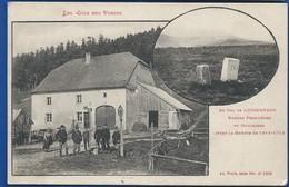 COL DE LOUSCHPACH    Bornes Frontières Et Douaniers      Animées    écrite En 1915 - France