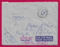 Enveloppe En Franchise Militaire - Poste Aux Armées - TOE - Secteur Postal 75 897 - Marcophilie (Lettres)
