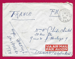 Enveloppe En Franchise Militaire - Poste Aux Armées - TOE - Secteur Postal 50 710 - Marcophilie (Lettres)