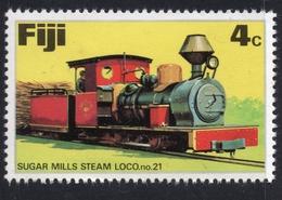 1976 FIJI TRAIN 4c Mint Not Hinged Stamp - Fidji (1970-...)